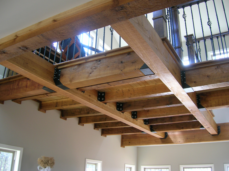 Vacation Home Plan Ceiling Detail Photo 080D-0014