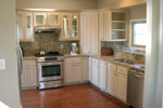 Cabin and Cottage Plan Kitchen Photo 01 - 080D-0014 | House Plans and More