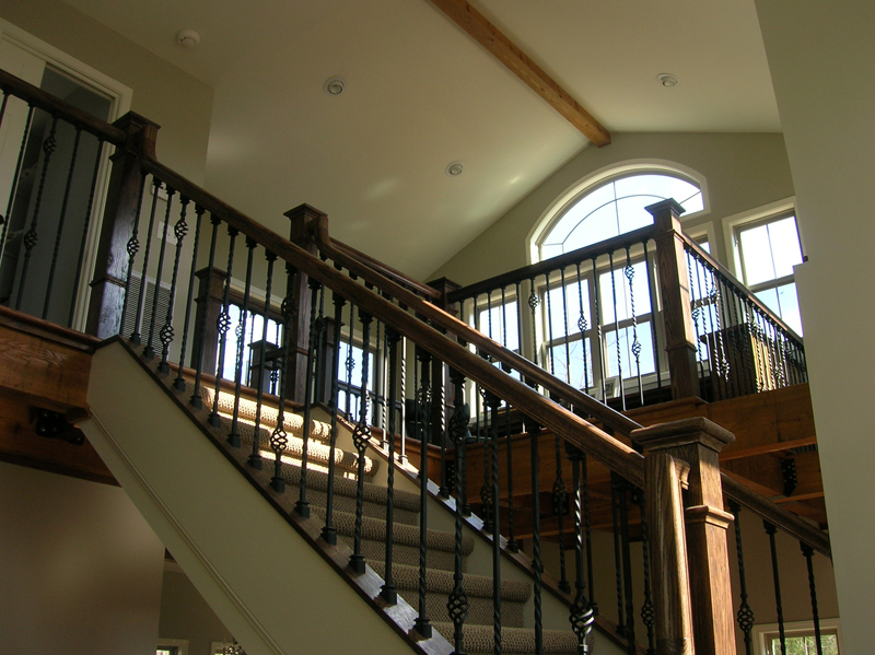 Vacation Home Plan Stairs Photo 080D-0014