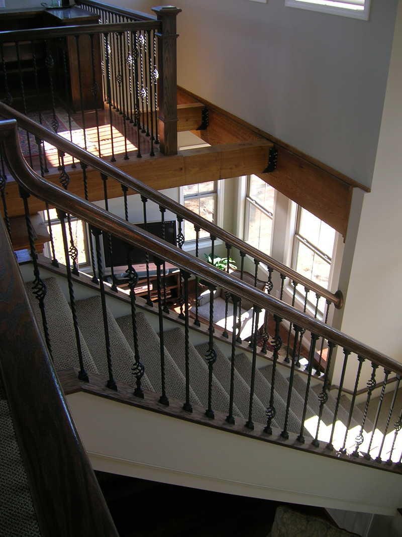 Vacation Home Plan Stairs Photo 01 080D-0014