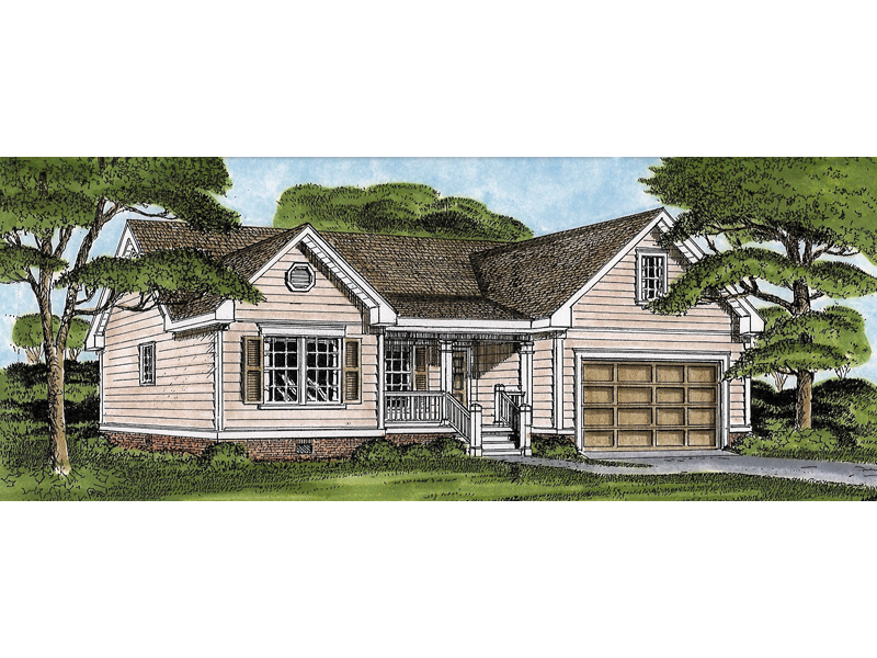 Santosh Traditional Ranch Home Plan 081d 0011 House