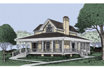 Traditional House Plan Front Image - 081D-0021 | House Plans and More