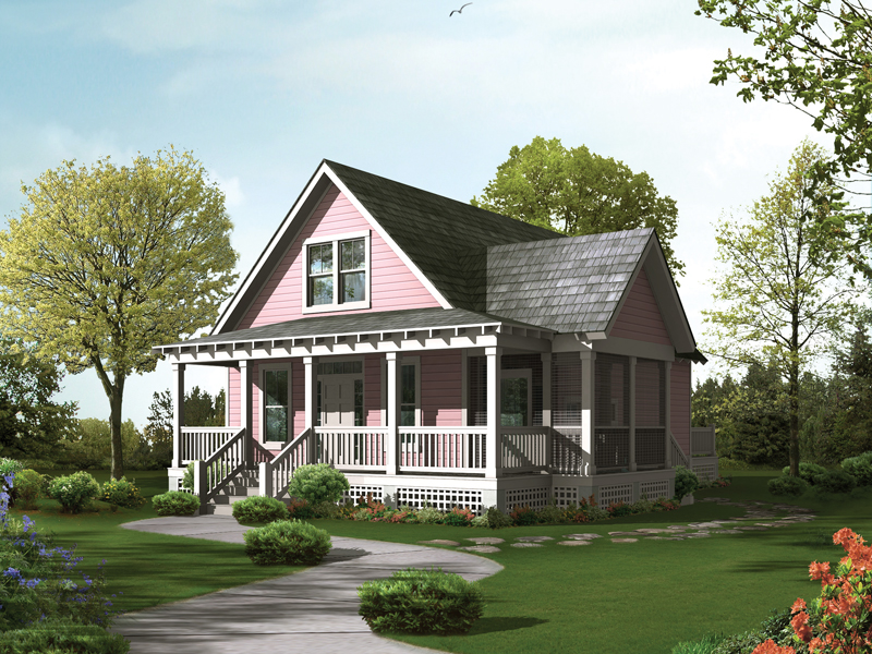 Acadian house plans with front porch for Louisiana style home plans
