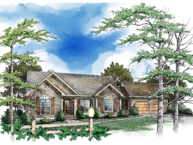 Terrific Ranch Home Has Enduring Brick Exterior