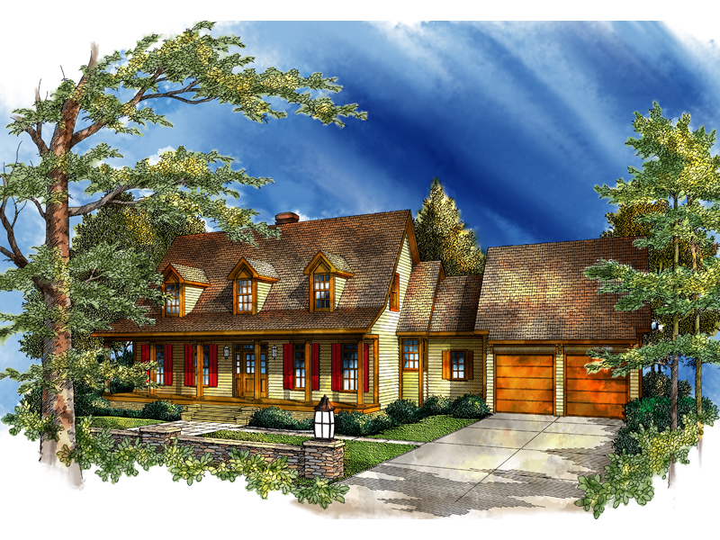 Traditional Country Style Home