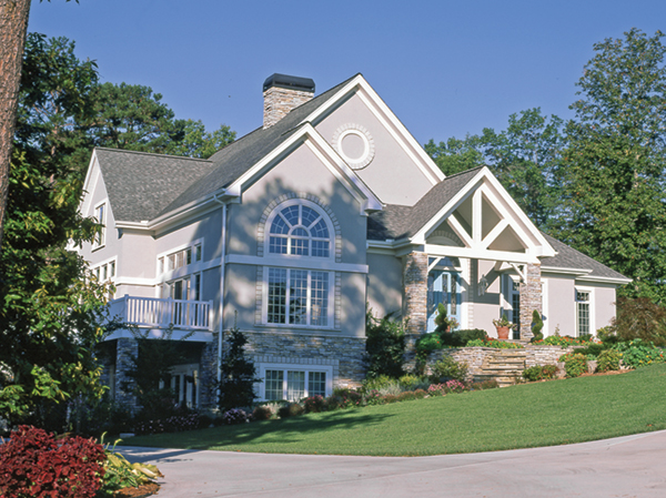 Doe Forest Tudor Style Home Plan 082D-0030
