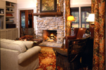 Cabin & Cottage House Plan Fireplace Photo 01 - 082D-0065 | House Plans and More