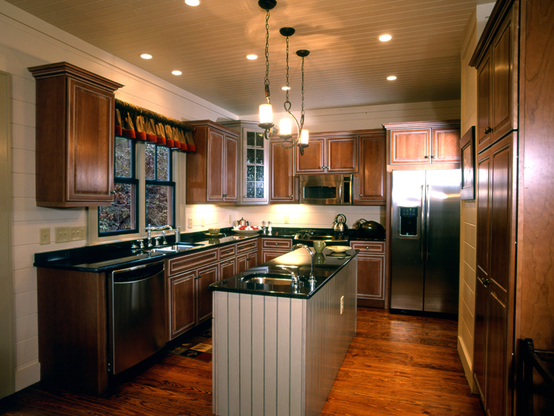 Cabin and Cottage Plan Kitchen Photo 01 - 082D-0065 | House Plans and More