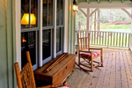 Rustic Home Plan Porch Photo 01 - 082D-0065 | House Plans and More