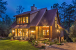 Rustic Home Plan Front of Home - 082D-0066 | House Plans and More