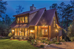 Rustic Home Plan Front Photo 02 - 082D-0066 | House Plans and More