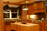 Rustic Home Plan Kitchen Photo 02 - 082D-0066 | House Plans and More