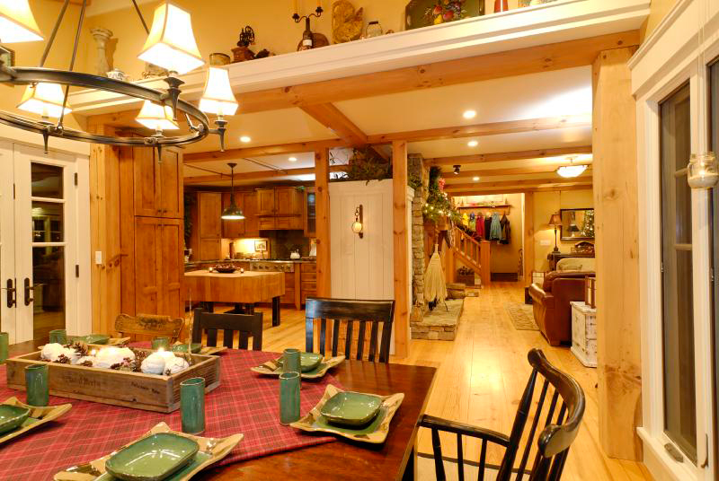 Rustic Home Plan Kitchen Photo 05 - 082D-0066 | House Plans and More