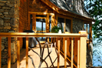 Mountain Home Plan Deck Photo 01 - 082S-0001 | House Plans and More