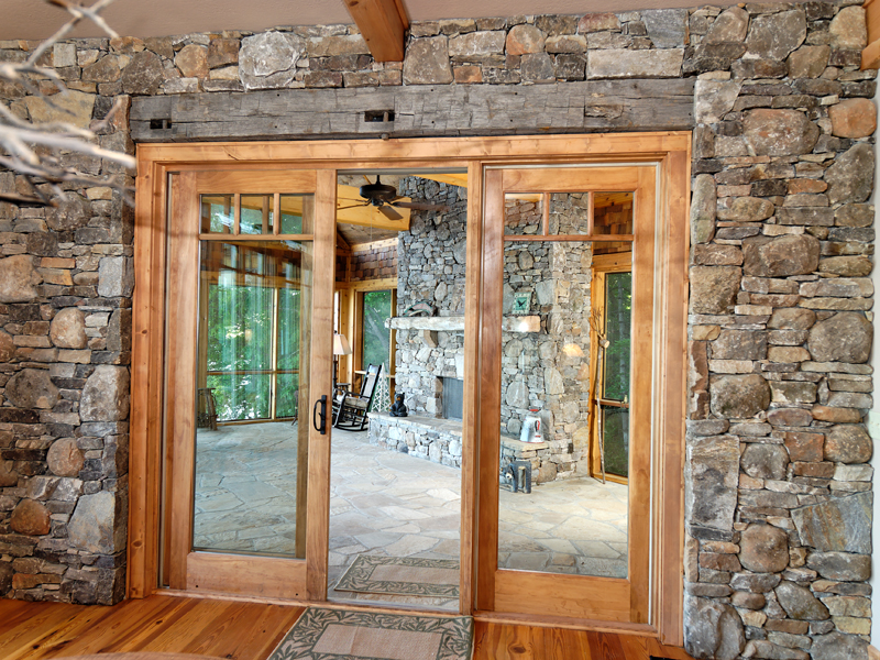 Mountain Home Plan Door Detail Photo - 082S-0001 | House Plans and More