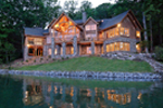 Mountain Home Plan Rear Photo 01 - 082S-0001 | House Plans and More