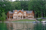 Waterfront House Plan Rear Photo 02 - 082S-0001 | House Plans and More