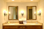 Rustic Home Plan Bathroom Photo 01 - 082S-0002 | House Plans and More