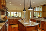 Luxury House Plan Kitchen Photo 01 - 082S-0002 | House Plans and More