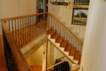 Rustic Home Plan Stairs Photo - 082S-0002 | House Plans and More