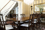 Country French Home Plan Dining Room Photo 01 - 082S-0003 | House Plans and More