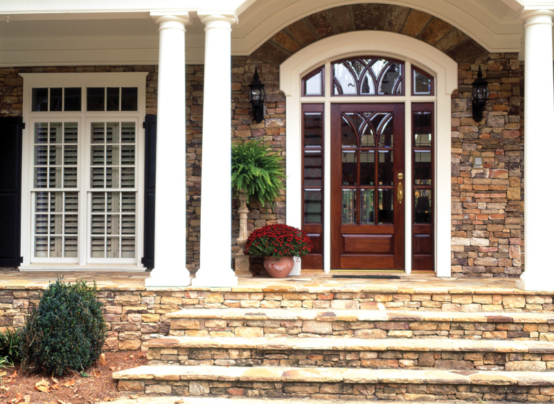 Acadian House Plan Entry Photo 01 082S-0003