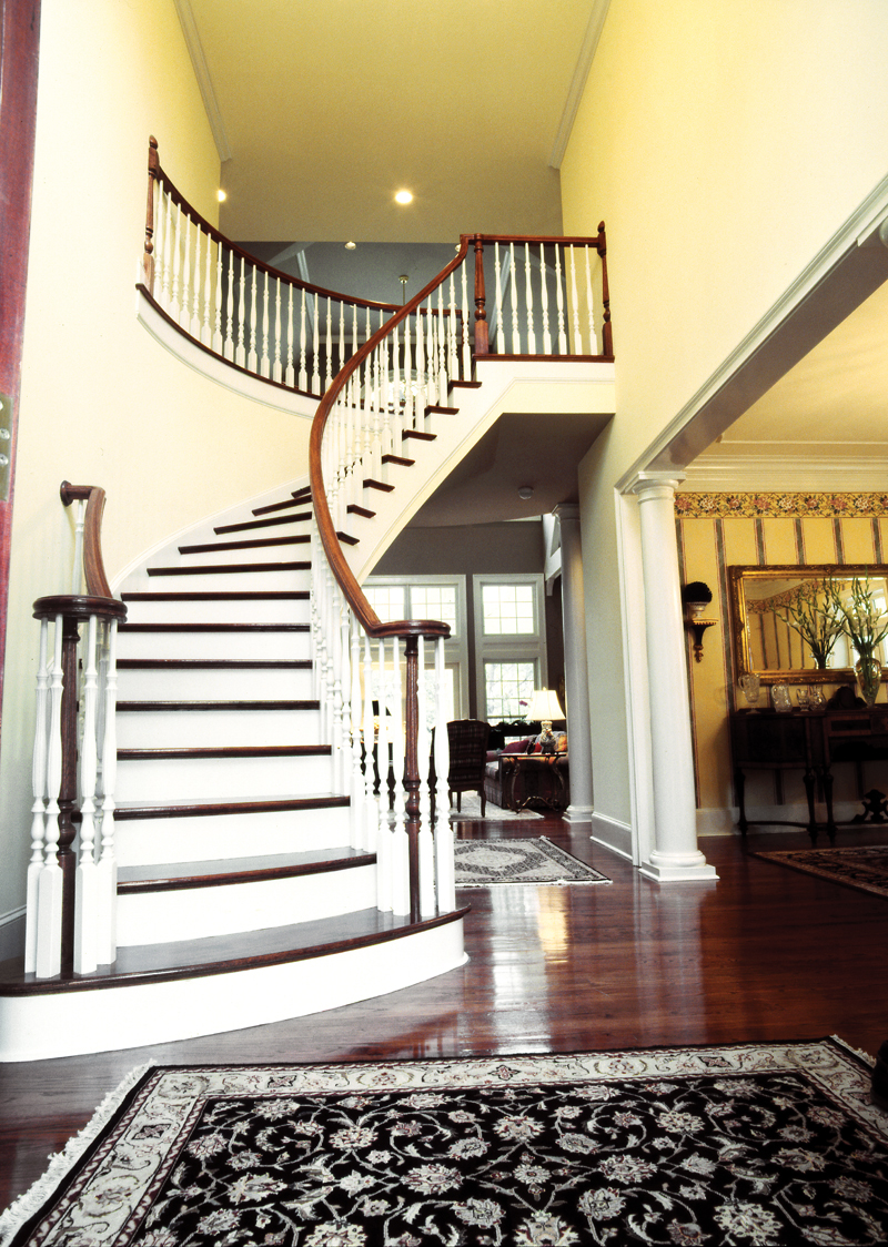 Farmhouse Plan Stairs Photo 02   082S 0003 | House Plans And More