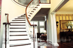 Farmhouse Home Plan Stairs Photo 02 - 082S-0003 | House Plans and More