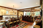 Mountain Home Plan Dining Room Photo 01 - 082S-0004 | House Plans and More