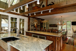Rustic Home Plan Kitchen Photo 03 - 082S-0004 | House Plans and More