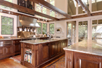 Mountain Home Plan Kitchen Photo 04 - 082S-0004 | House Plans and More
