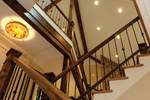 Mountain Home Plan Stairs Photo 01 - 082S-0004 | House Plans and More