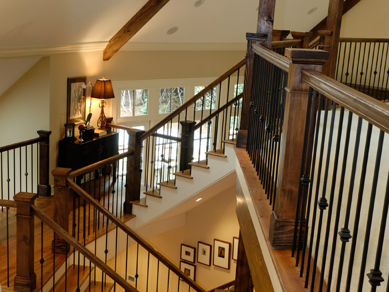 Rustic Home Plan Stairs Photo 02 - 082S-0004 | House Plans and More