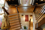 Rustic Home Plan Stairs Photo 03 - 082S-0004 | House Plans and More