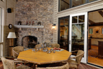 Mountain Home Plan Sunroom Photo - 082S-0004 | House Plans and More
