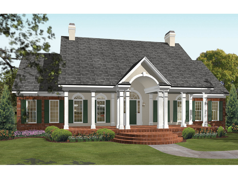 Campbell Hill Traditional Home Plan 084D 0003 House Plans And More