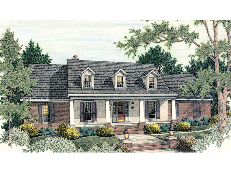 Connery Traditional Ranch Home Plan 084d 0017 House