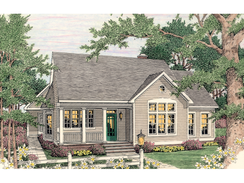 Corisande Country Ranch Home Plan 084D 0032 House Plans And More