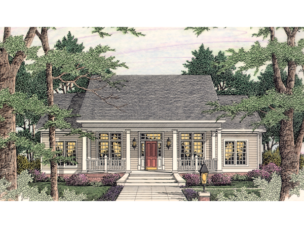Gravois Place Country Ranch Home Plan 084D 0041 House