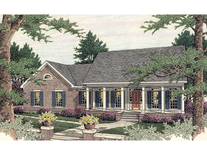 Gallina Place Ranch Home Plan 084d 0043 House Plans And More