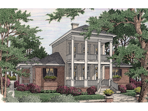 Summerlake plantation home plan 084d 0048 house plans for Summerlake house plan