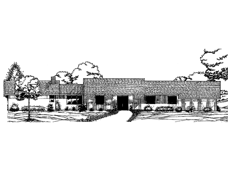Pleasant Sprawling Ranch House Plans Ukrobstep Com Inspirational Interior Design Netriciaus