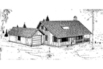 Quaint Cottage Style House Perfect For Rustic Surroundings