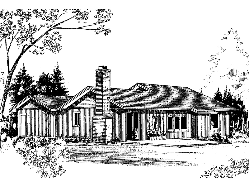 Traditional House Plan Front of Home - 085D-0159 | House Plans and More
