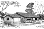 Traditional House Plan Front of Home - 085D-0161 | House Plans and More