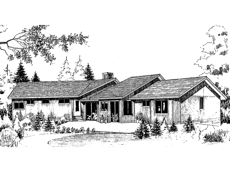 Country House Plan Front of Home - 085D-0163 | House Plans and More