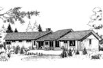 Traditional House Plan Front of Home - 085D-0163 | House Plans and More
