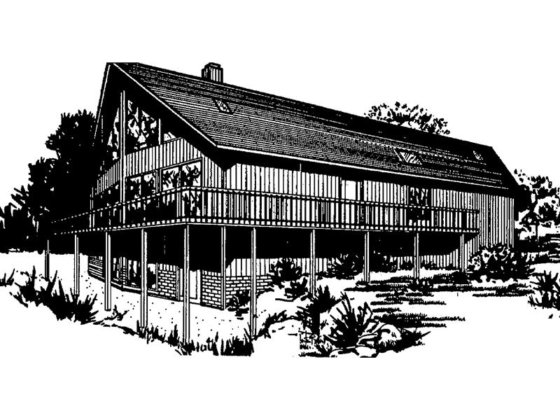 Stunning Deck Wraps Around This Mountain Home
