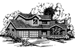 Two-Story Traditional Design