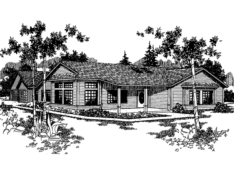 Country House Plan Front of Home - 085D-0219 | House Plans and More